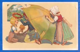 Fantaisie; Kinder; Verlag Meissner & Buch; Serie 1313 Regen Und Sonnenschein - 1900-1949