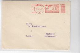 Freistempel Aus Wien 19.3.41 - Briefe U. Dokumente
