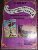Livre Encyclopédie INTERNATIONALE De La Carte Postale Par Baudet 1978 - Libros, Revistas, Cómics