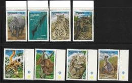 Maldives 1993 Endangered Animals MNH/mint Hinged - Maldives (1965-...)
