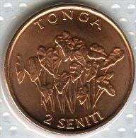 Tonga 2 Seniti 2002 Food UNC KM 67a - Tonga