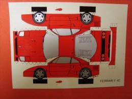 Ferrari F 40, P.A.R.C. Verlag, N° WC 93 - Turismo