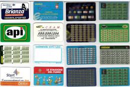 LOTTO 8 SCHEDE CONVERTITORI EURO DIFFERENTI (10 - Altre Collezioni