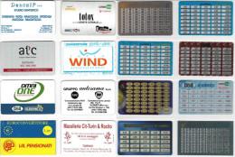 LOTTO 8 SCHEDE CONVERTITORI EURO DIFFERENTI (15 - Other Collections
