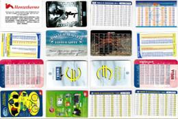 LOTTO 8 SCHEDE CONVERTITORI EURO DIFFERENTI (30 - Altre Collezioni