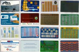 LOTTO 8 SCHEDE CONVERTITORI EURO DIFFERENTI (32 - Altre Collezioni