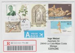 B351/ Buntfrankatur Mit 6 Marken 2016 - Briefe U. Dokumente