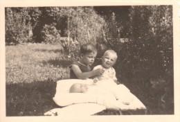 Photo Originale Famille - Frère Et Soeurs En Juillet 1939 - Bébé - - Personnes Identifiées