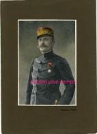 Belle Photogravure Ancienne 6 Sur 9-militaires 1ere Guerre Mondiale-Général FOCH - Vieux Papiers