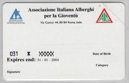 SCHEDA TELEFONICA TELECOM NUOVA 1483 AIG TESSERAMENTO 2002 - Pubbliche Speciali O Commemorative