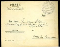 BRIEFOMSLAG Uit 1927 Van 's-HERTOGENBOSCH Naar OOSTERHOUT  (10.380f) - Periode 1891-1948 (Wilhelmina)