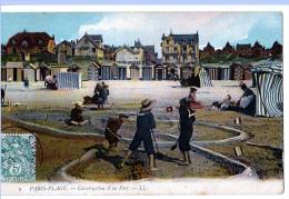 Le Touquet (Pas-de-Calais)  Jeux D'enfants Et Promenade     LES 2 CARTES - Le Touquet