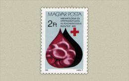 Hungary 1982. Heart Stamp MNH (**) Michel: 3569 / 0.50 EUR - Ungebraucht