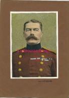 Belle Photogravure Ancienne 9 Sur 9-militaires 1ere Guerre Mondiale Lord KITCHENER - Vieux Papiers