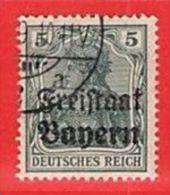 MiNr.138  O Altdeutschland Bayern - Bayern