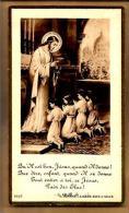 Image Pieuse Religieuse Holy Card - Communion M. Chinardet Ste Geneviève Asnières 24-05-1923 - Ed Bonamy 1056 - Images Religieuses