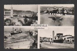 DF / ALGERIE / PHILIPPEVILLE / MULTIVUES - Skikda (Philippeville)