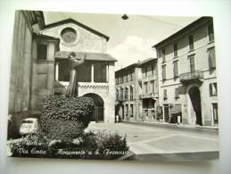 MONUMENTO A S. FRANCESCO   RIETI     LAZIO  NON  VIAGGIATA   COME DA FOTO * - Rieti