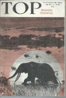 TOP Réalités Jeunesse  N° 127 - PASCALE AUDRET - YURI ALEXEÏEVITCH GAGARINE -  AVRIL 1961 - Livres, BD, Revues
