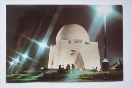Pakistan Mausoleum Quaid-e-Azam Picture - Old  Postcard  - Islam - Pakistan