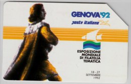 SCHEDA TELEFONICA USATA 197 GENOVA92 - Italia