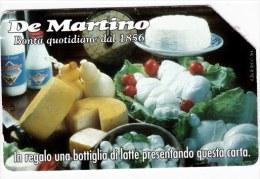 SCHEDA TELEFONICA USATA 467 DE MARTINO - Italia