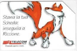 SCHEDA TELEFONICA USATA 1047 ECS 99 -VOLPE - Italy