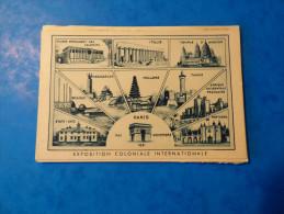 Exposition Coloniale Internationale De Paris 1931 - Tentoonstellingen