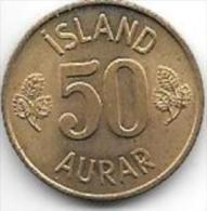 ICELAND 50 AURAR 1974  KM 17   Unc - Iceland