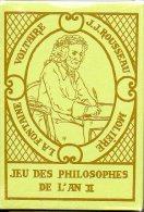 Jeu Des Philosophes De L'an II Jeu De 54 Cartes - 54 Karten