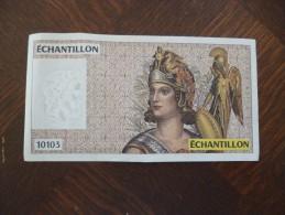 Billet France Fictif échantillon 10103 - Specimen