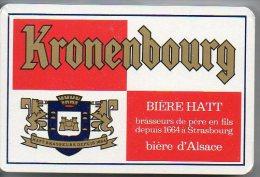 Bière D'alsace Beer Kronenbourg Publicité Jeu De 32 Cartes - 32 Cartes