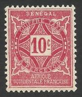 Senegal, 10 C. 1914, Sc # J13, MH - Senegal (1887-1944)