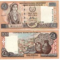 CYPRUS   1 Pound      P60b     1.12.1998    UNC - Chypre