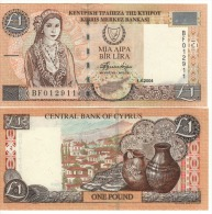 CYPRUS   1 Pound      P60d     1.4.2004    UNC - Cyprus