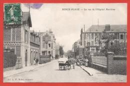 CPA Berck Plage - La Rue De L'Hôpital Maritime - Berck