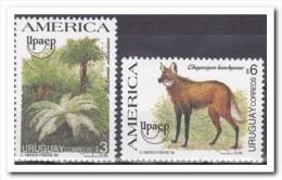 Uruguay 1995, Postfris MNH, Trees, Animals - Uruguay