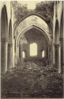 SAINT-GENOIS - SINT DENIJS - Zwevegem - Binnenzicht Der Vernielde Kerk - Zwevegem