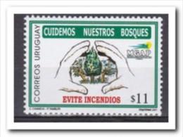 Uruguay 2001, Postfris MNH, Trees - Uruguay