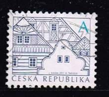 Tschechische Republik 2011, Michel# 673 O Folk Architecture - A - Tschechische Republik