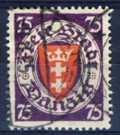 ##K2357. Germany / Danzig 1924. Michel 201. (o) - Dantzig