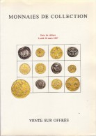 Josiane Védrines - Bernard Poindessault - Catalogue De La Vente Du 30 Mars 1987 - Français
