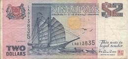 2 Dollars 1990 - Singapour