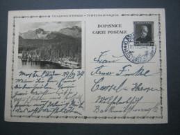 1934 , Bildganzsache Nach Deutschland Verschickt - Postal Stationery