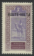 Burkina Faso, Upper Volta, 1 C. 1920, Scott # 1, MH. - Upper Volta (1920-1932)