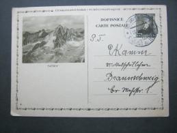 1937 , Bildganzsache Nach Deutschland Verschickt - Postal Stationery