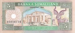 5 Schillings 1994 - Somalia