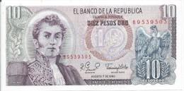 10 Pesos Oro 1980 - Colombia
