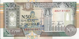 50 Shilin 1991 - Somalia