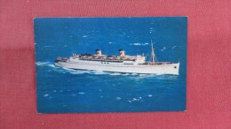 SS Lurline Matson Lines Luxury Resort Liner====2171 - Paquebots